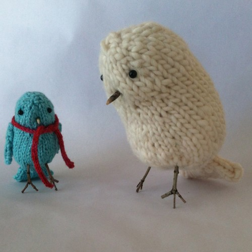 Little Birds / Big Bird - Free Pattern