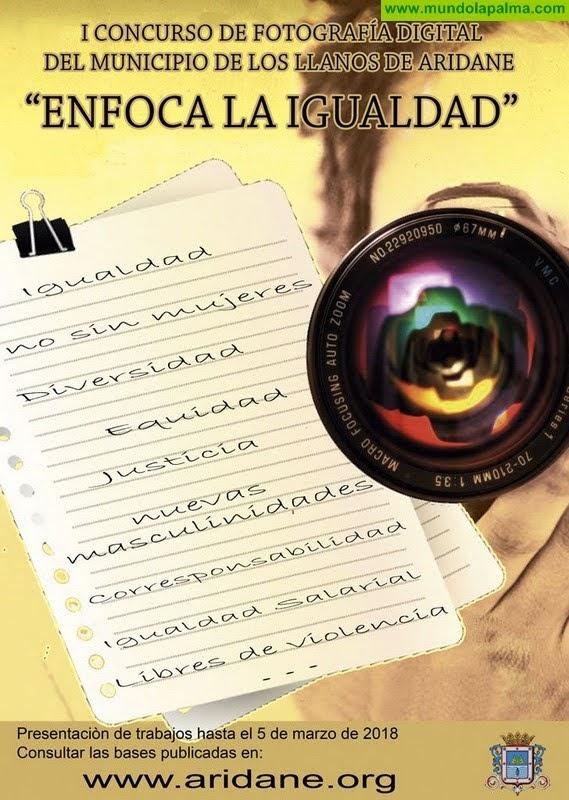 Los Llanos de Aridane abre un concurso juvenil de fotografía para promover la igualdad