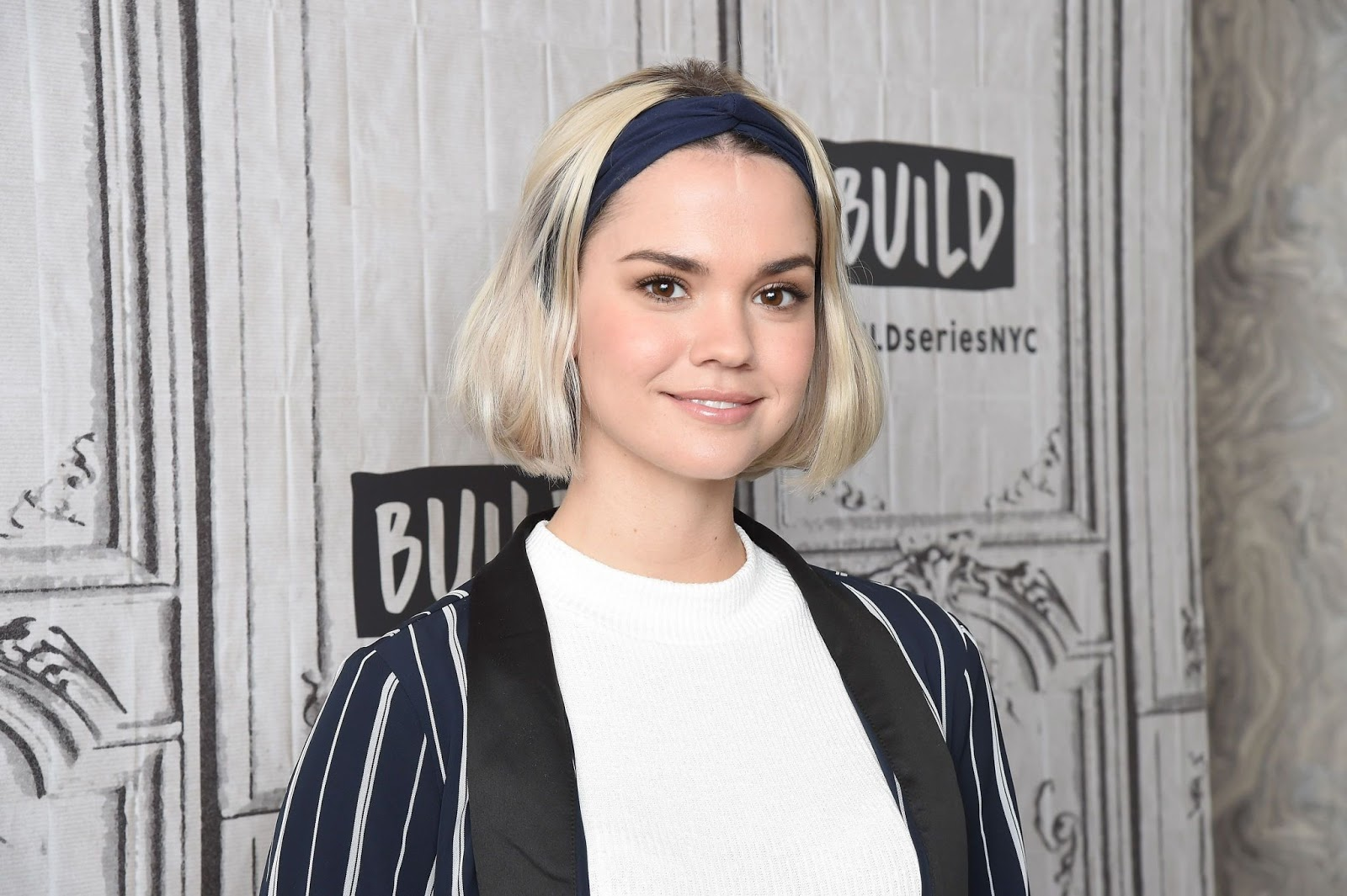 Maia Mitchell - At BUILD Series Studio in New York City - 01/29/2019