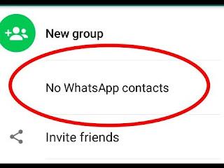 Cara Mengatasi Kontak Whatsapp Hilang Tidak Terdeteksi