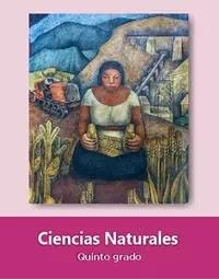 Libro de texto  Ciencias Naturales Quinto grado 2019-2020