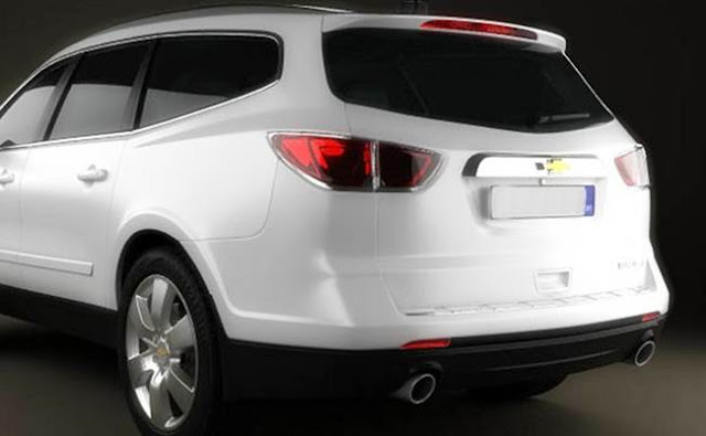 2017 Chevy Traverse Concept Review
