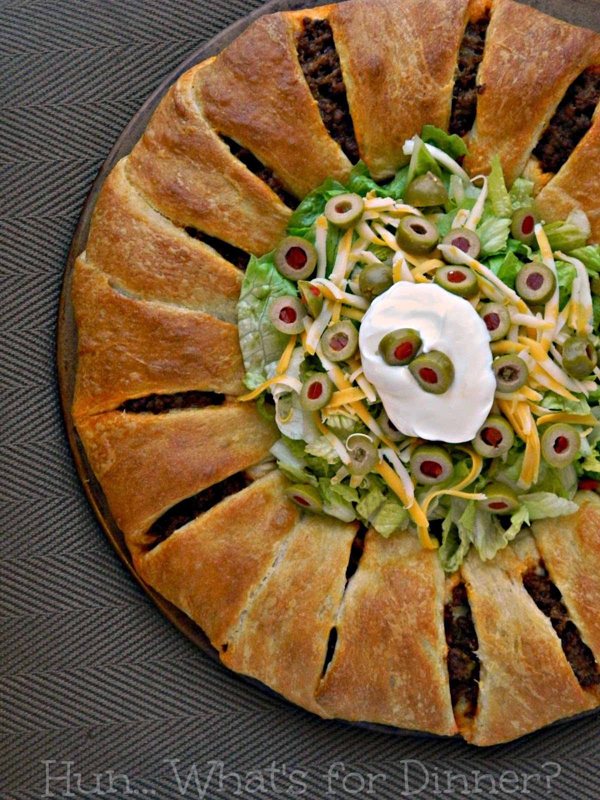 Pampered Chef Crescent Taco Ring