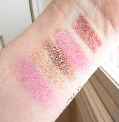palladio beauty swatches - the beauty puff