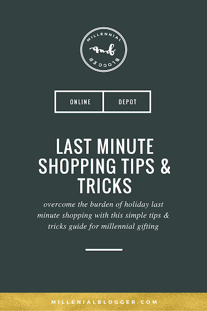 Last Minute Christmas Shopping Guide for Millennials