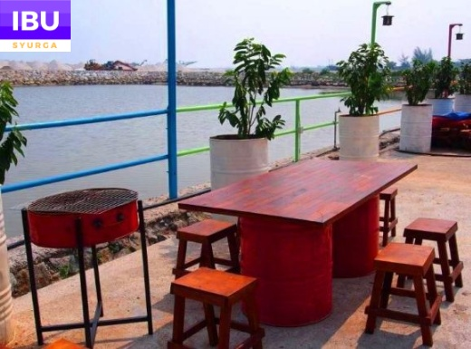 Mabohai Resort Klebang Melaka dapur grill bbq