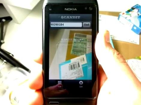 nokia barcode reader s60