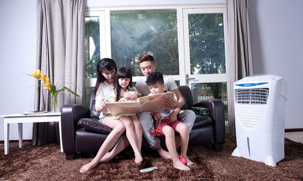 máy làm mát không khí cho gia đình