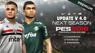 PES 2016 Next Season Patch 2019 Official Update v4.0