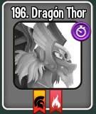 Dragón Thor en el libro de dragones