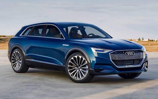 Novo Audi E-Tron concept