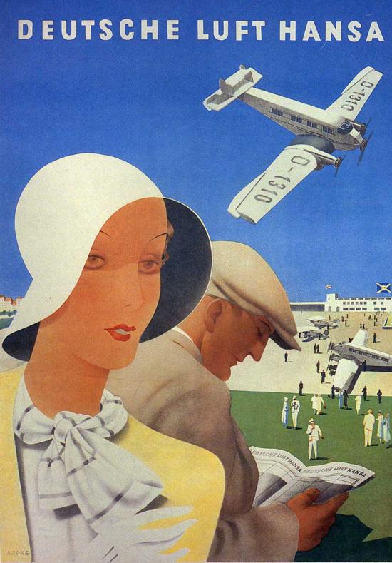 Lufthansa poster 1932