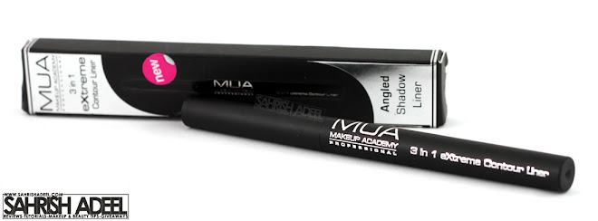 3 in 1 Contour Liner in 'Sea Blue' by MUA - Makeup Academy - Review & Swatch
