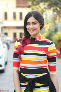 Adha Sharma in a Cute Colorful Jumpsuit Styled By Manasi Aggarwal Promoting movie Commando 2 (3).JPG