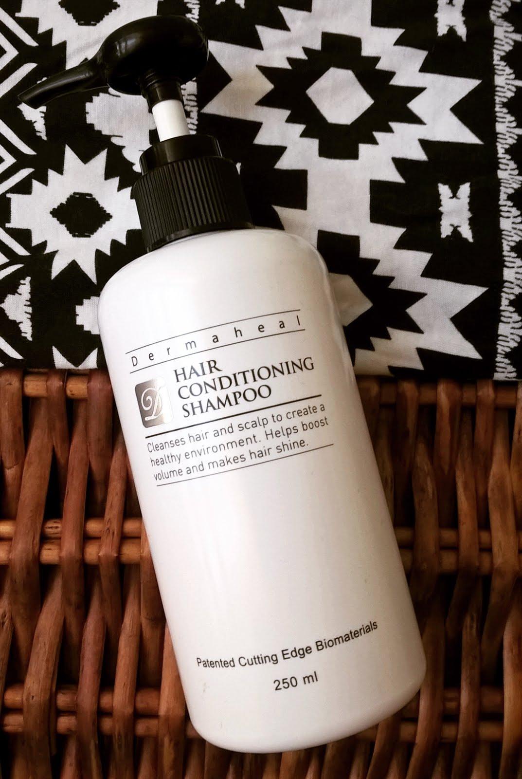 Szampon Dermaheal Hair Conditioning opinie blog recenzja