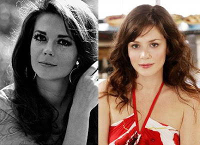 Natalie Wood and Anna Friel