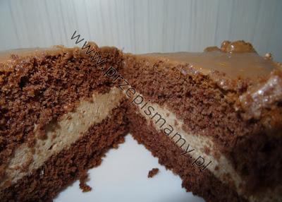 Ciasto z masą czekoladową