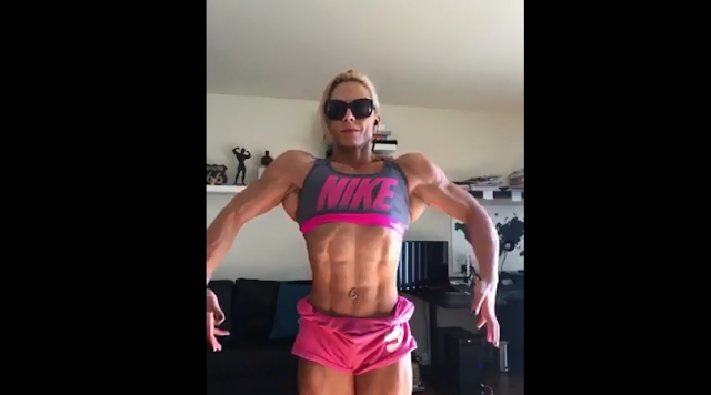 Video The Best Abs... Female bodybuilders abdominal muscles