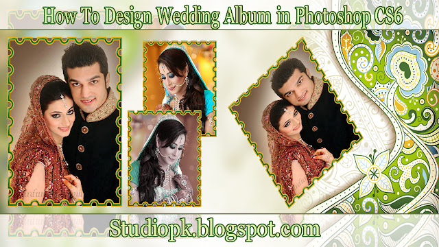 How To Design Wedding Album in Photoshop