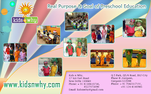 Real Purpose & Goal of Preschool Education