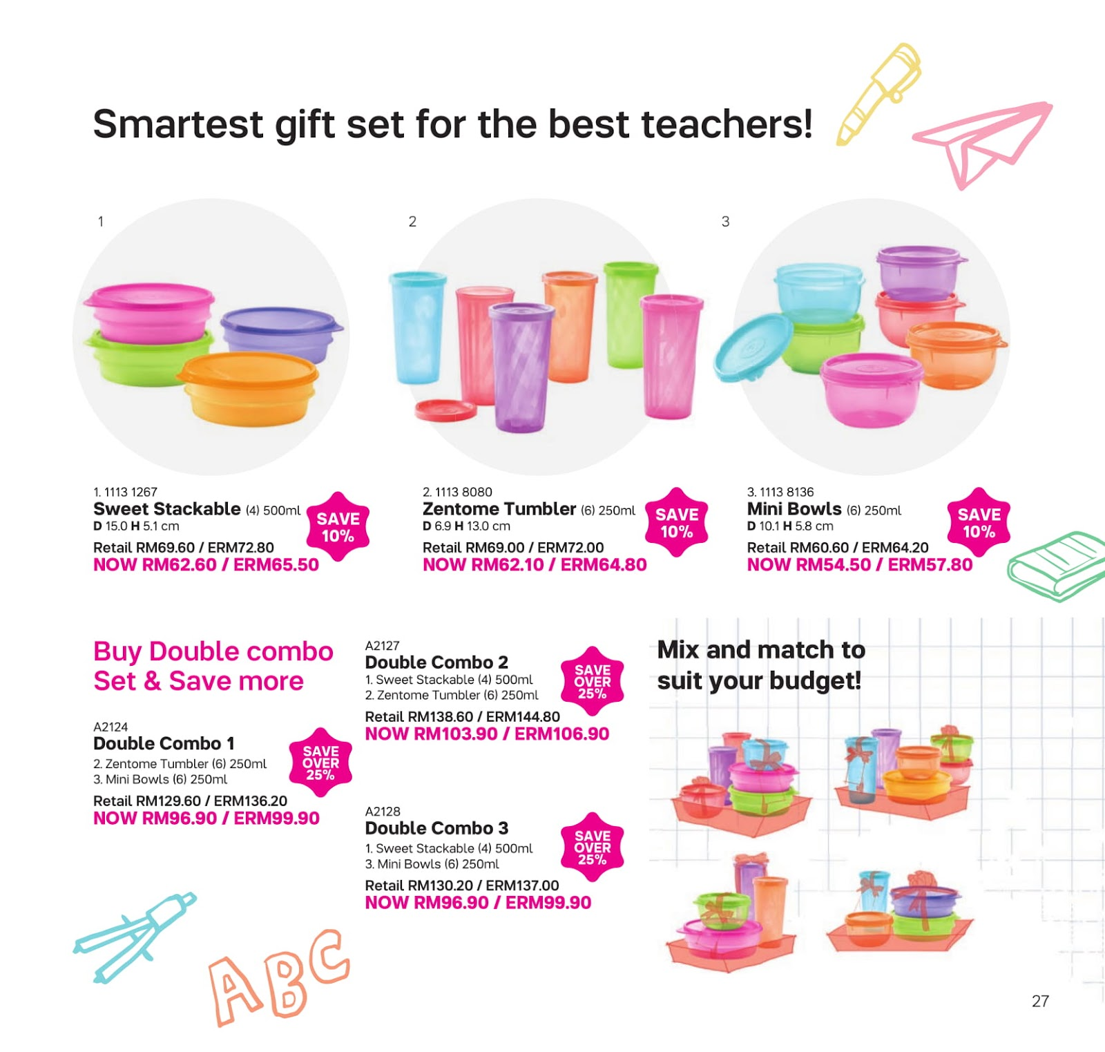 Katalog Tupperware Bulan September 2018