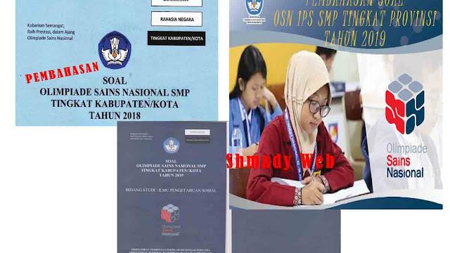 Download Soal Dan Pembahasan Osn Ips Smp Bentuk Ms Word