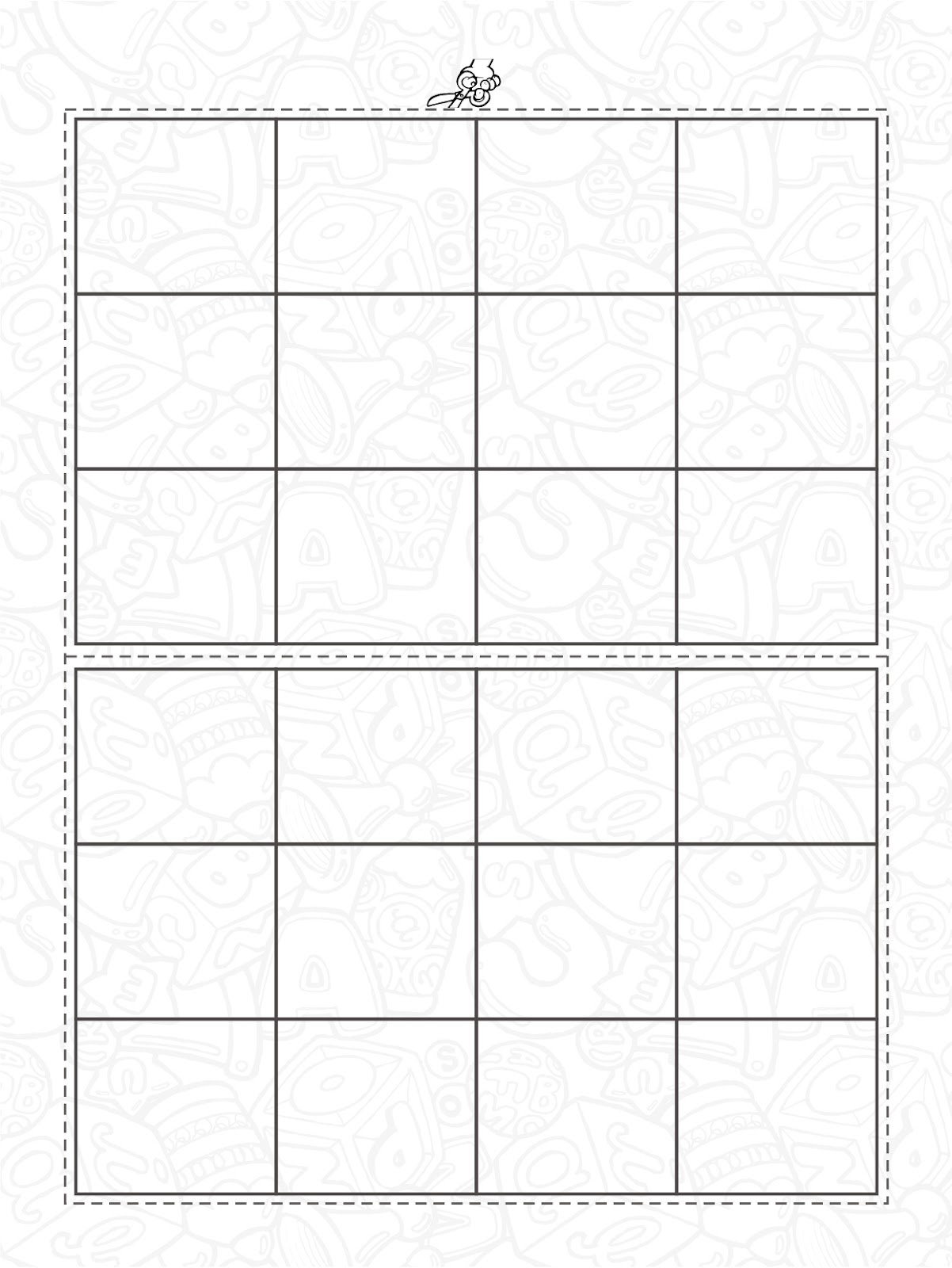 Jogos Bingo De Figuras Alfabetizacao