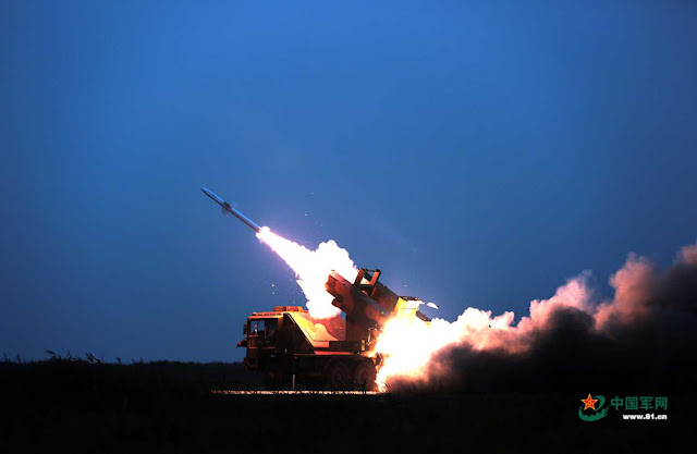 China latihan menembak jatuh rudal di perairan yang dekat dengan Korea Utara