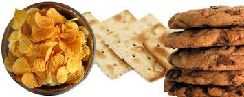 Chips, cracker and cookies cancer causing food