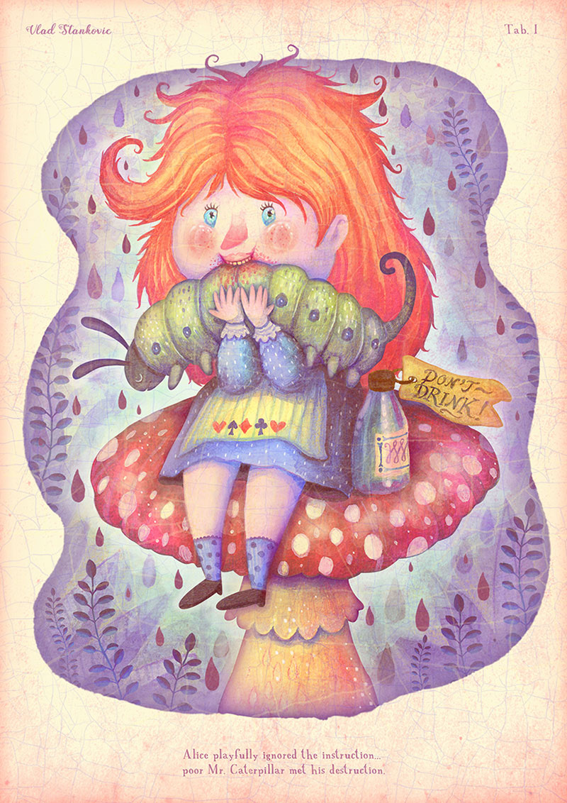 Picturesque Rhymes Illustrations By Vladimir Stankovic # Wertheim Muebles Jose Hernandez