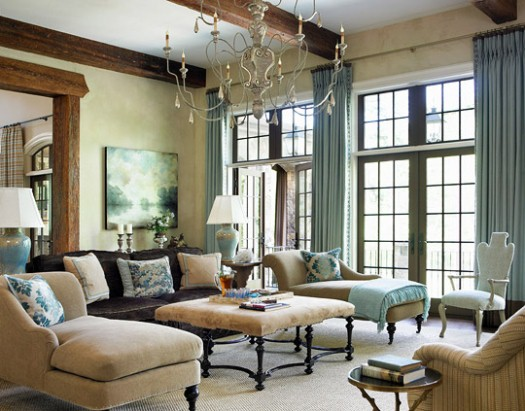 New Home Interior Design An English Manor