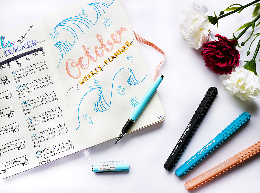 Miniso dotted notebook journal Bullet Journal tips