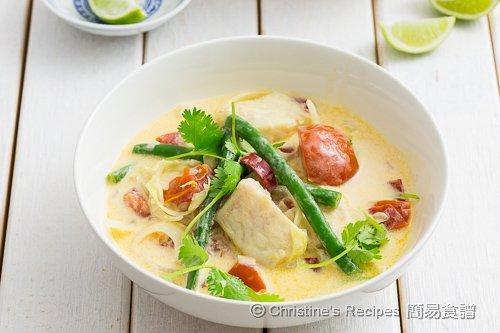 椰汁煮魚 Fish in Coconut Soup02