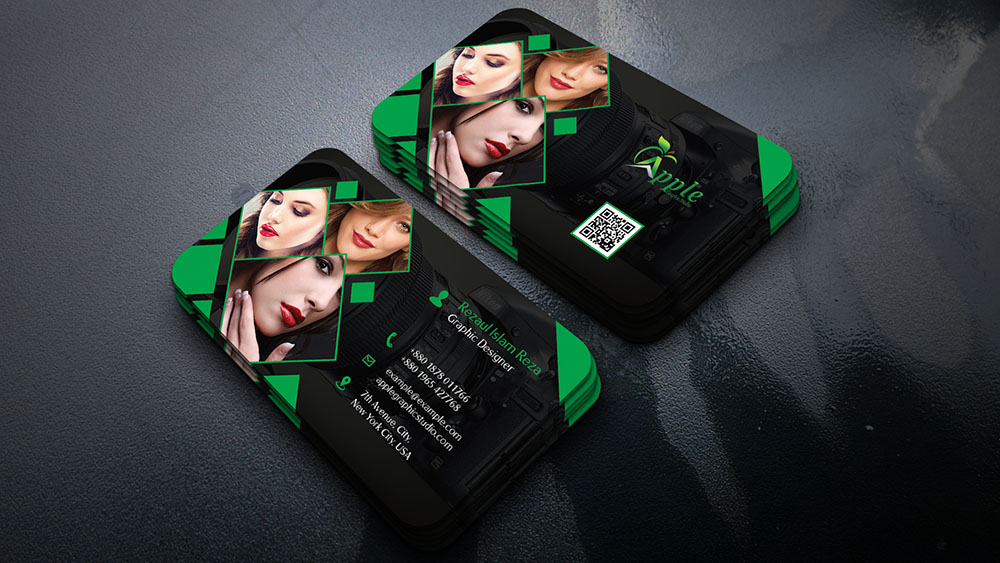 Stylish Photography Business Card Design Tutorial in Photoshop ...