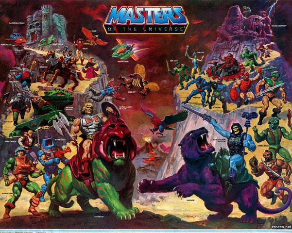 Cartel o poster de He-Man