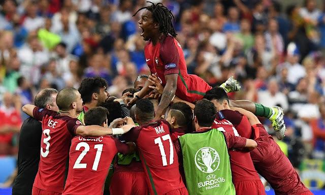 Portugal Eder Scores Euro 2016