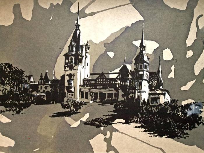 Румынский художник. Mihai Ene