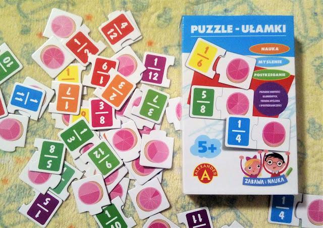 Puzzle - ułamki, Alexander - recenzja
