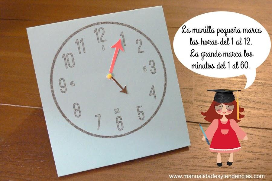 Cómo leer la hora para niños