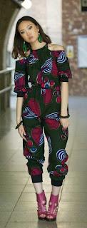 cool Ankara jumpsuit