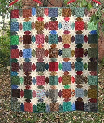 Morning Star baby quilt