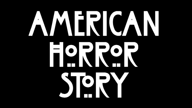 Odd text that reads 'American Horror Story'