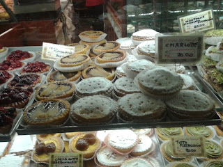 Pies in Milan