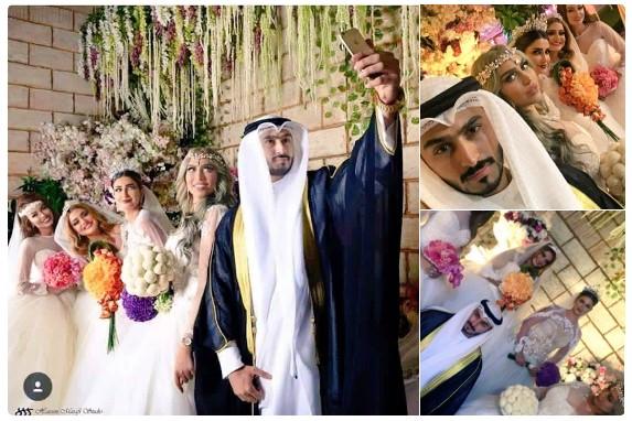 Pria berparas menawan ini menikahi 4 gadis sekaligus