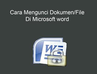 kunci dokumen word