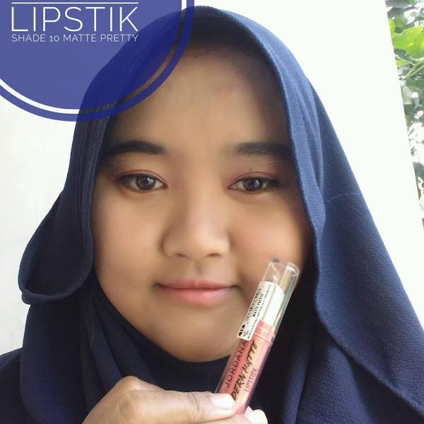 Review Jordana Modern Matte Lipstik Matte Pretty
