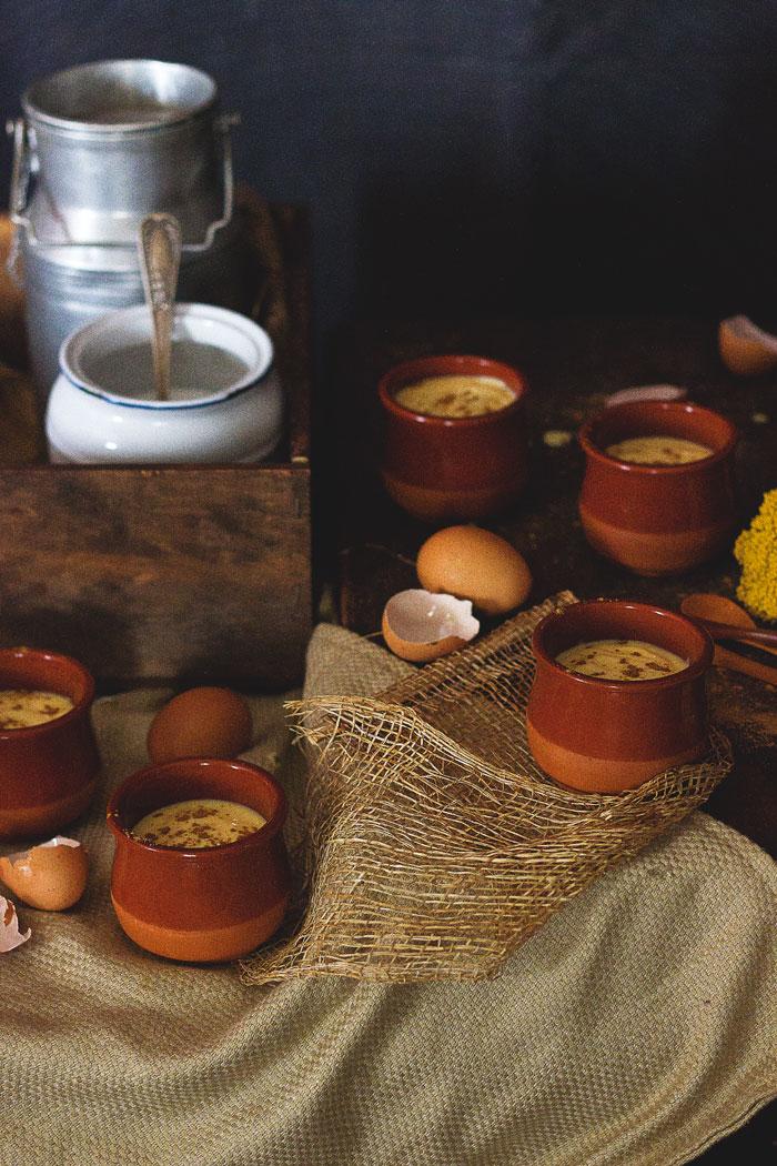 Natillas caseras tradicionales