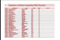 Calendario Fidal Piemonte 2020.Bio Correndo