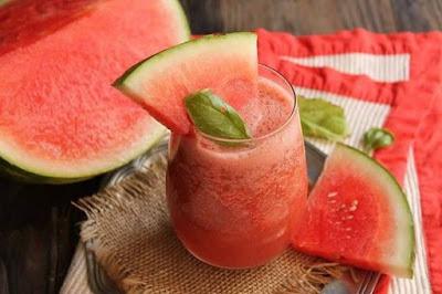 buah penurun panas semangka