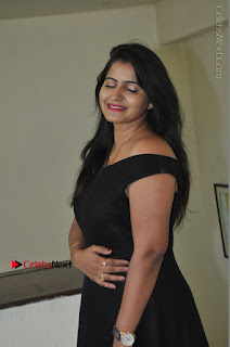 Telugu Actress Swathi Reddy Latest Stills in Black Gown  0041.JPG